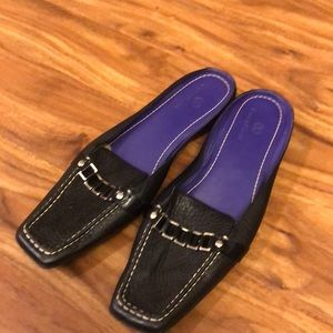 Cole Haan black mule loafers shoes 8.5B
